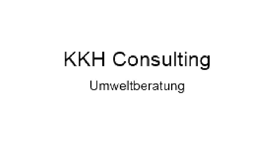 Wie KMUs die Einführung eines elektronischen Umweltmanagements stemmen am Beispiel KKH Consulting Umweltberatung Logo