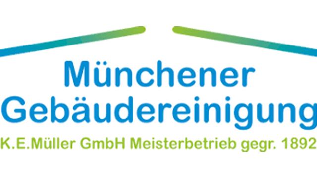 Bei der Münchener Gebäudereinigung K.E.Müller  GmbH kommt e-QSS als flexible QM-Software zum Einsatz Logo